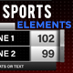 Simple Sports Elements Kit | MOGRT for Premiere Pro