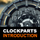 Fictional Work of Clock Parts - VideoHive Item for Sale