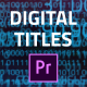 Digital Core Titles - VideoHive Item for Sale