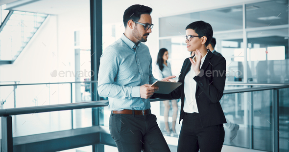 Business coworkers discussing new ideas - Stock Photo - Images