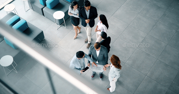 Business people working together on project - Stock Photo - Images