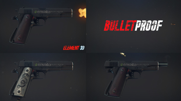 Weapon Logo Reveal  Download Free