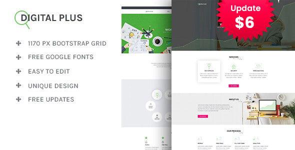 Digital Plus - SEO/Marketing HTML5 Template