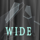 Curtain and Shards Widescreen - VideoHive Item for Sale