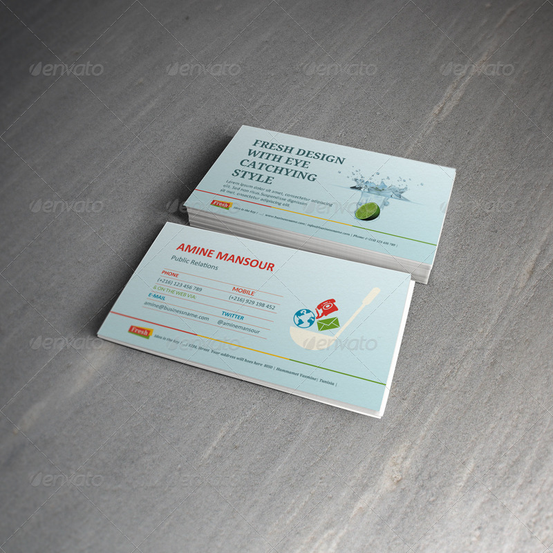 Marketing Business Card Bundle by kh2838 | GraphicRiver