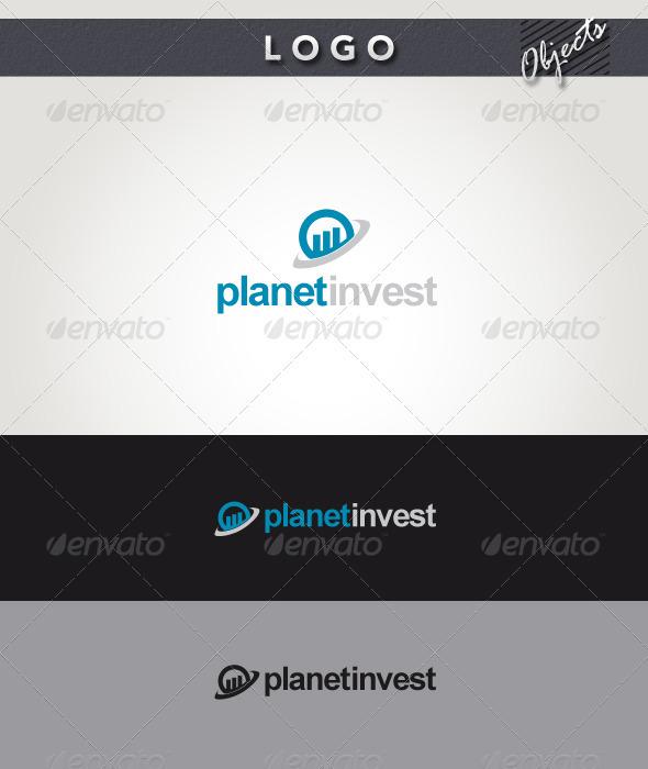 Planet Invest Logo - Symbols Logo Templates