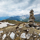 Stone cairn in Himalayas - PhotoDune Item for Sale