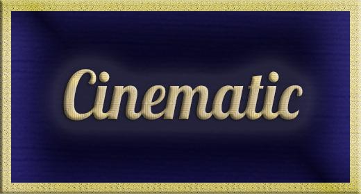 Cinematic, romantic, sentimental