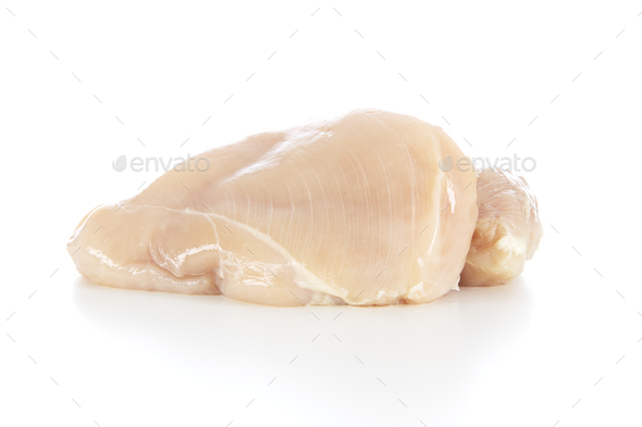 Chicken Breast Isolated - Stock Photo - Images