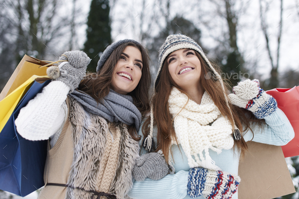Winter sale always is successful - Stock Photo - Images