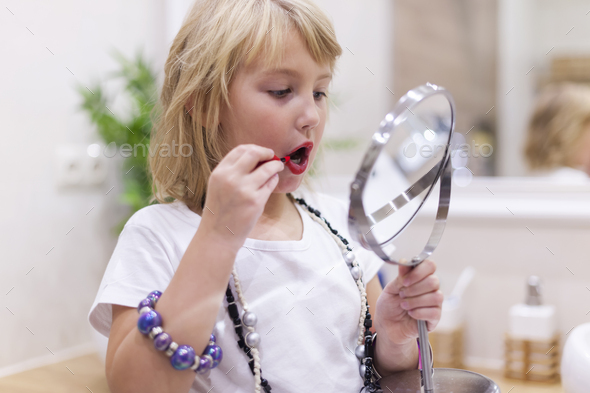 She is growing up so fast - Stock Photo - Images