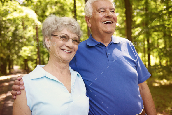 Activity is very important at the elder age - Stock Photo - Images