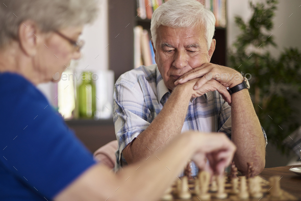 This game demands such a great patience - Stock Photo - Images