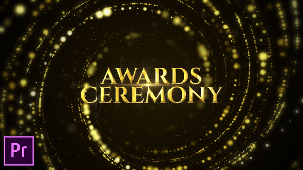 Awards Ceremony Opener – Premiere Pro