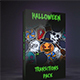 Halloween Stickers Transitions - VideoHive Item for Sale