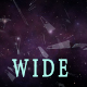 Dark Space and Shards Widescreen - VideoHive Item for Sale