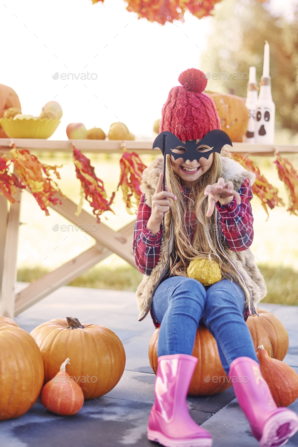 Wrr! Get scared, Halloween comes! - Stock Photo - Images