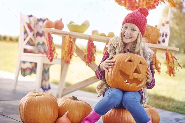 My favorite time is a Halloween! - Stock Photo - Images