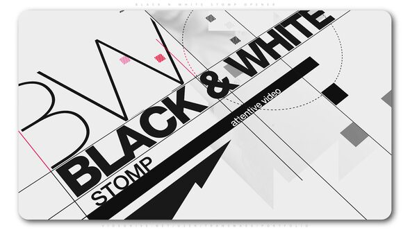 Black And White Stomp Opener Download Free