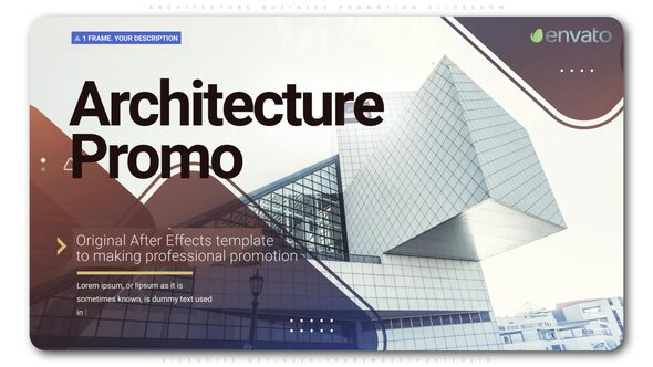 Architecture Business Promotion Slideshow Download Free