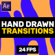 Hand Drawn Transitions // Afrer Effects - VideoHive Item for Sale