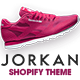 Free Download Jorkan - Running Sports Shoes Clothes Shopify Theme Nulled