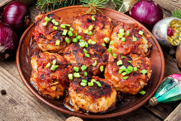 Dietary vegetable cutlets. - Stock Photo - Images