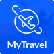 Free Download Travel Booking Agency PSD Template Nulled