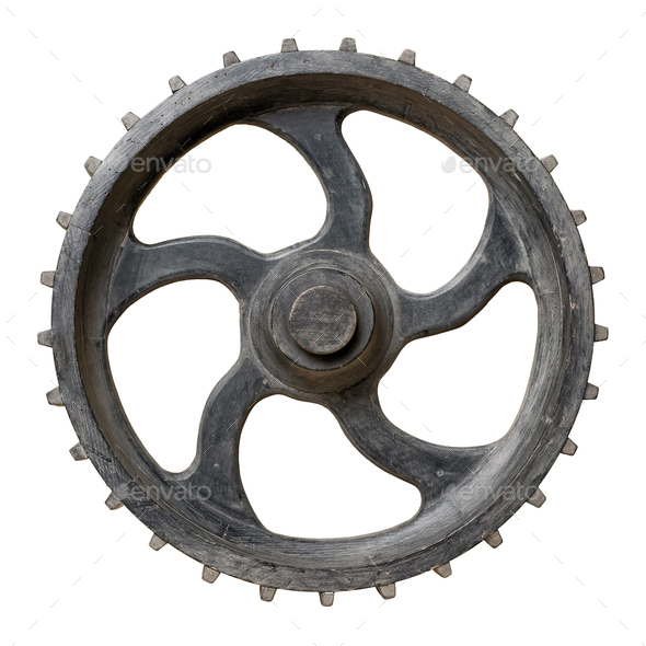 Old cogwheel - Stock Photo - Images