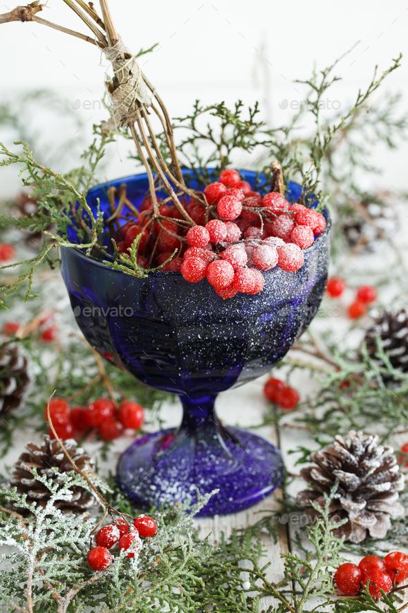 Natural Christmas ornaments - Stock Photo - Images