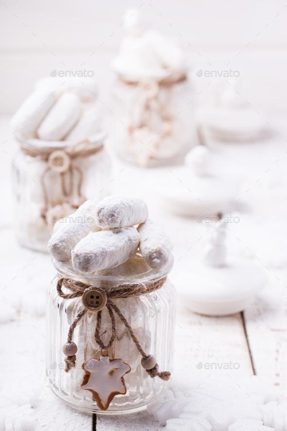 Vanilla cookies - Stock Photo - Images
