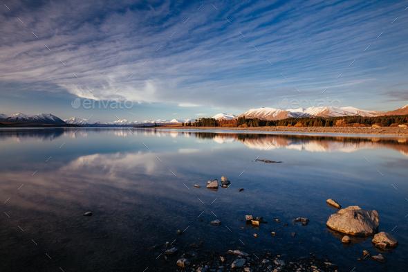 Lake Tekapo NZ - Stock Photo - Images