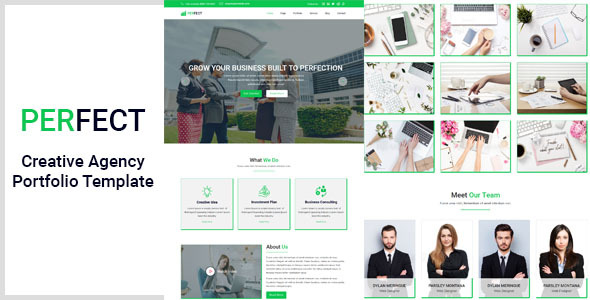 Perfect- Creative Agency Portfolio Template