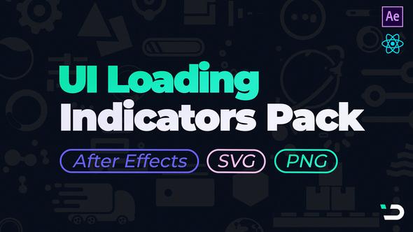 UI Loading Indicators Pack Download Free