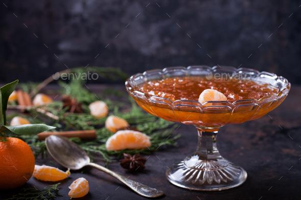 Tangerine jam - Stock Photo - Images