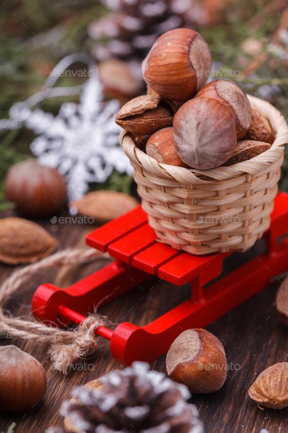 Christmas Holiday decoration - Stock Photo - Images