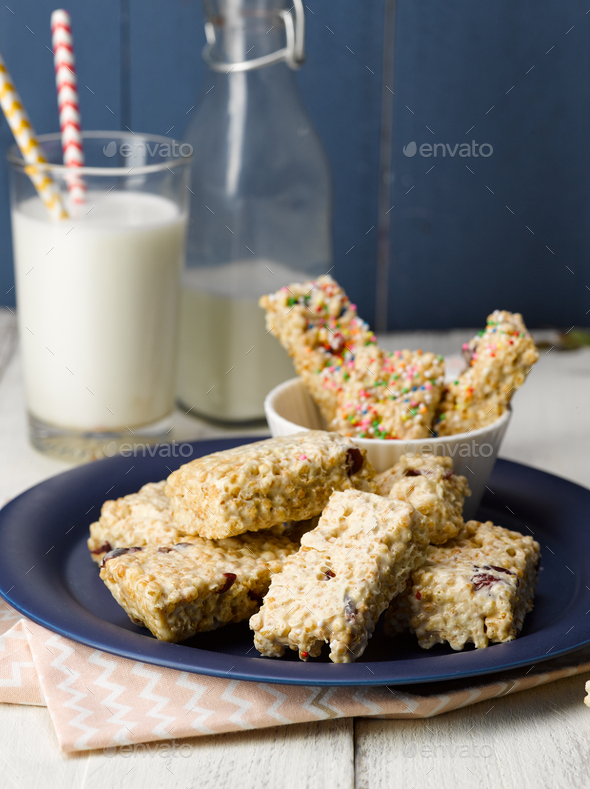 Rice Crispy - Stock Photo - Images