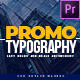 Modern Promo Typography - Premiere Pro | Mogrt - VideoHive Item for Sale