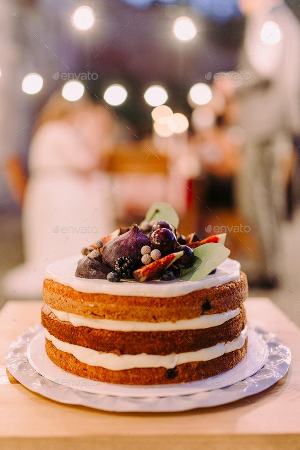Wedding cake - Stock Photo - Images