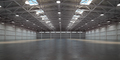 Empty warehouse interior. Storehouse building or storage room. - PhotoDune Item for Sale