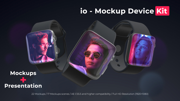 io - Mockup Device Kit Download