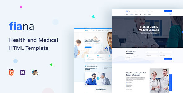 Fiana | Health and Medical HTML Template by PixelSigns