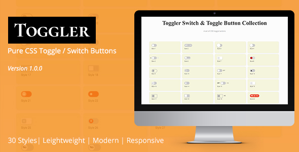 Share codecanyon Toggler Switch & Toggle Button Collection