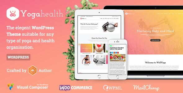 Susastho - Health and Yoga WordPress Theme