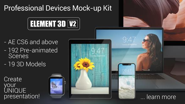 Devices Mock-up Kit Black Edition Download