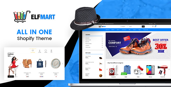 Elfmart – All in One Shopify Theme