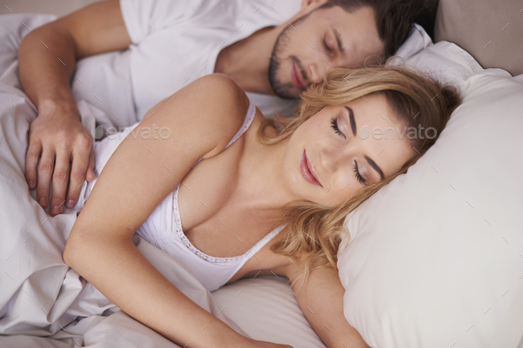 Morning time for young marriage - Stock Photo - Images
