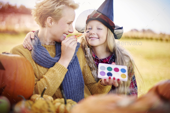 Now you are going to be a real witch - Stock Photo - Images