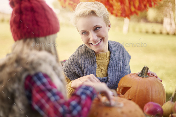The time spent only with my daughter - Stock Photo - Images