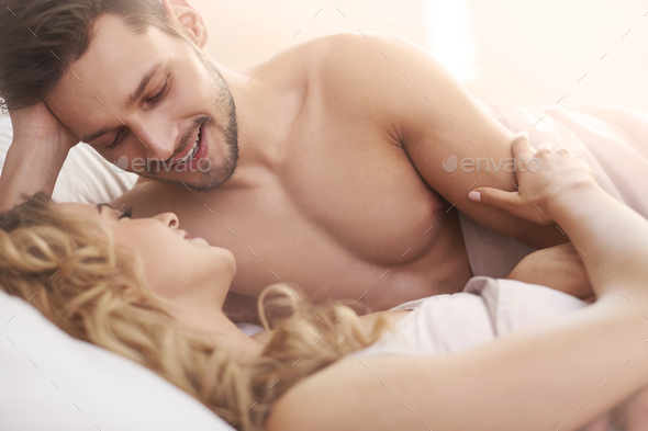 Caring about my woman is my priority - Stock Photo - Images